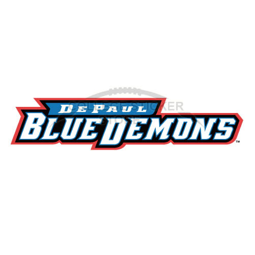 Design DePaul Blue Demons Iron-on Transfers (Wall Stickers)NO.4272