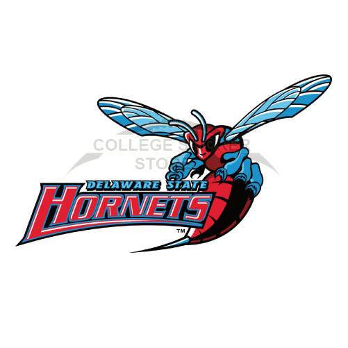 Customs Delaware State Hornets Iron-on Transfers (Wall Stickers)NO.4250