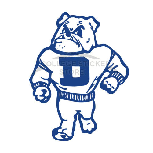 Design Drake Bulldogs Iron-on Transfers (Wall Stickers)NO.4276