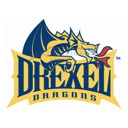 Design Drexel Dragons Iron-on Transfers (Wall Stickers)NO.4278