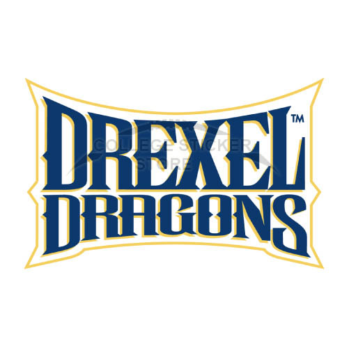 Design Drexel Dragons Iron-on Transfers (Wall Stickers)NO.4282