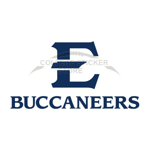 Design ETSU Buccaneers Iron-on Transfers (Wall Stickers)NO.4342