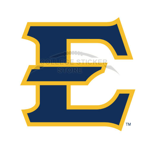 Design ETSU Buccaneers Iron-on Transfers (Wall Stickers)NO.4345