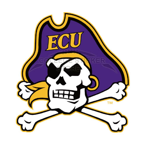Design East Carolina Pirates Iron-on Transfers (Wall Stickers)NO.4303