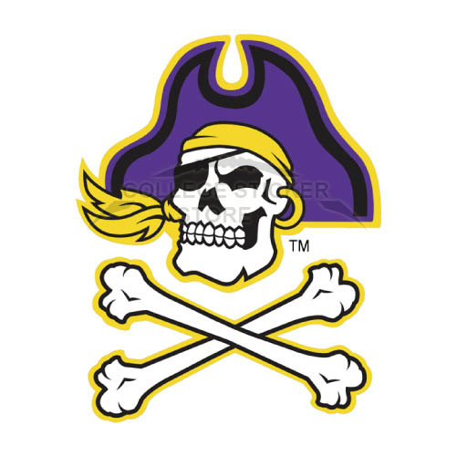 Design East Carolina Pirates Iron-on Transfers (Wall Stickers)NO.4305