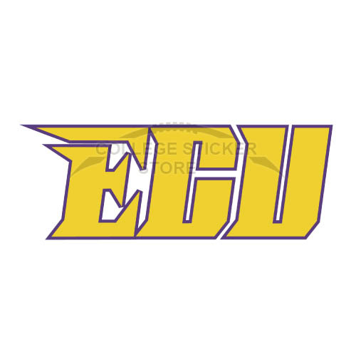 Design East Carolina Pirates Iron-on Transfers (Wall Stickers)NO.4306