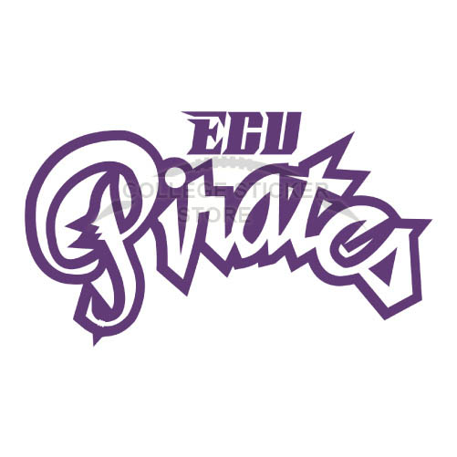 Design East Carolina Pirates Iron-on Transfers (Wall Stickers)NO.4308
