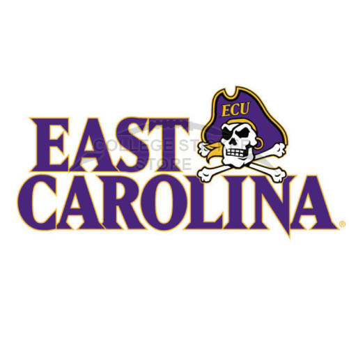 Design East Carolina Pirates Iron-on Transfers (Wall Stickers)NO.4310