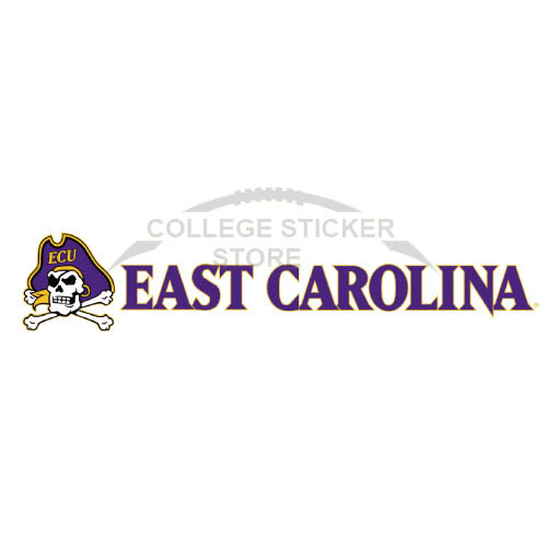 Design East Carolina Pirates Iron-on Transfers (Wall Stickers)NO.4311
