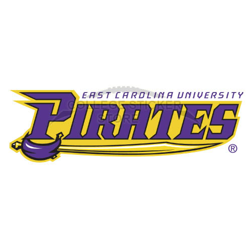 Design East Carolina Pirates Iron-on Transfers (Wall Stickers)NO.4315