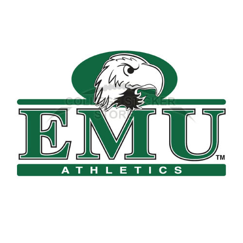 Design Eastern Michigan Eagles Iron-on Transfers (Wall Stickers)NO.4324