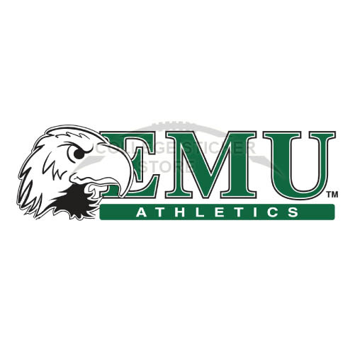 Design Eastern Michigan Eagles Iron-on Transfers (Wall Stickers)NO.4325