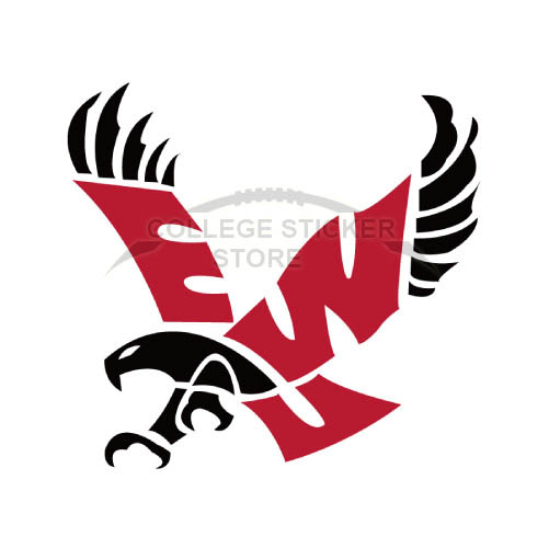 Design Eastern Washington Eagles Iron-on Transfers (Wall Stickers)NO.4331