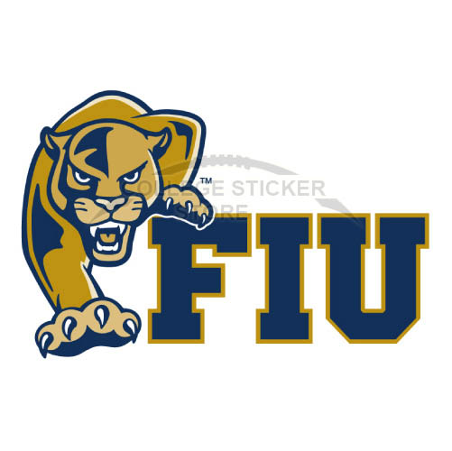 Design FIU Panthers Iron-on Transfers (Wall Stickers)NO.4365