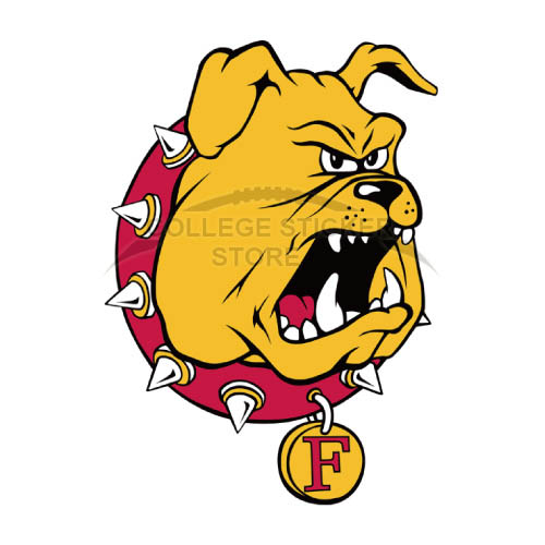 Design Ferris State Bulldogs Iron-on Transfers (Wall Stickers)NO.4360