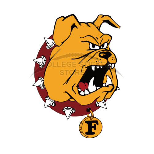 Design Ferris State Bulldogs Iron-on Transfers (Wall Stickers)NO.4361