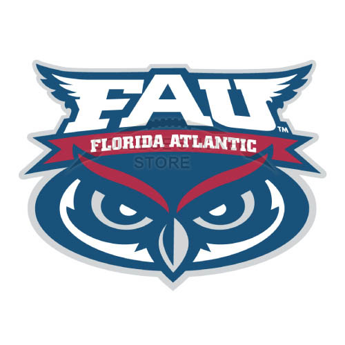 Design Florida Atlantic Owls Iron-on Transfers (Wall Stickers)NO.4372