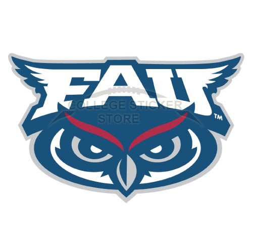 Design Florida Atlantic Owls Iron-on Transfers (Wall Stickers)NO.4373