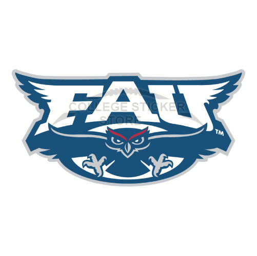 Design Florida Atlantic Owls Iron-on Transfers (Wall Stickers)NO.4376