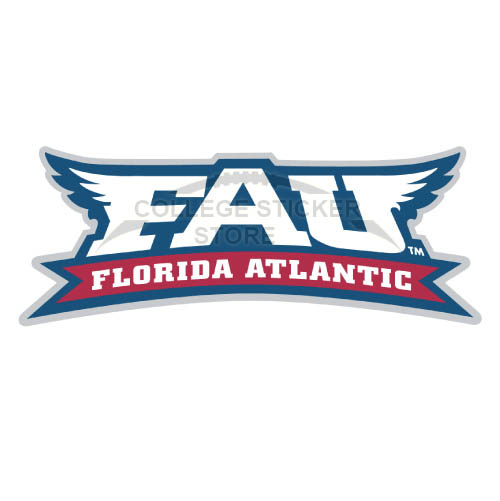 Design Florida Atlantic Owls Iron-on Transfers (Wall Stickers)NO.4377