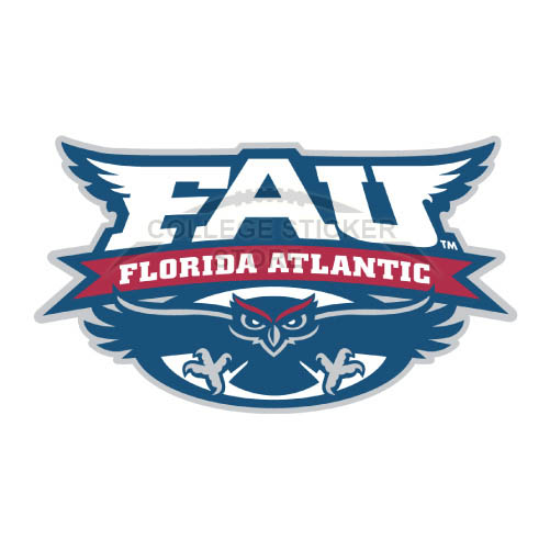 Design Florida Atlantic Owls Iron-on Transfers (Wall Stickers)NO.4380