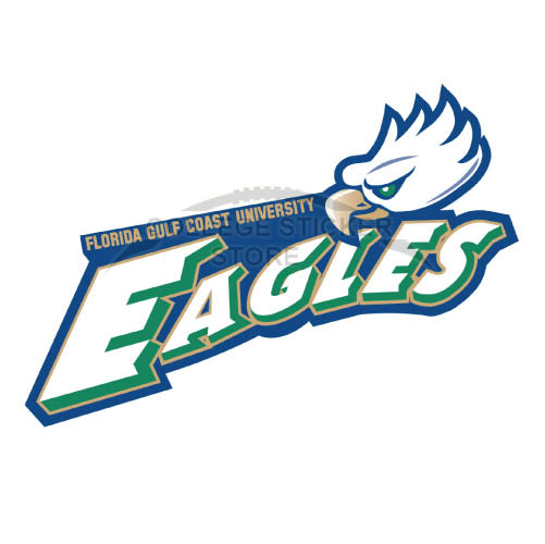 Design Florida Gulf Coast Eagles Iron-on Transfers (Wall Stickers)NO.4393