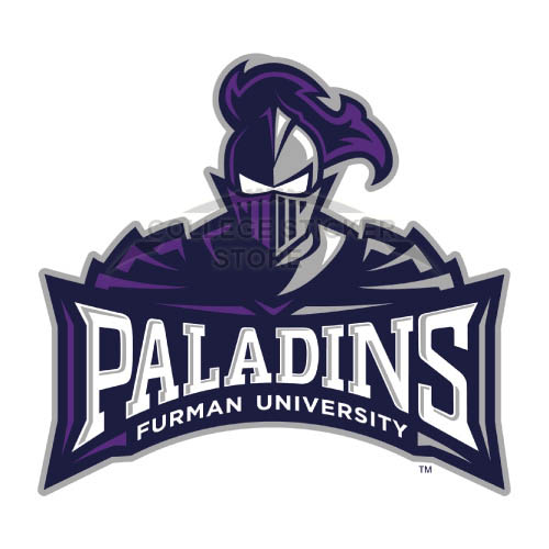Design Furman Paladins Iron-on Transfers (Wall Stickers)NO.4428
