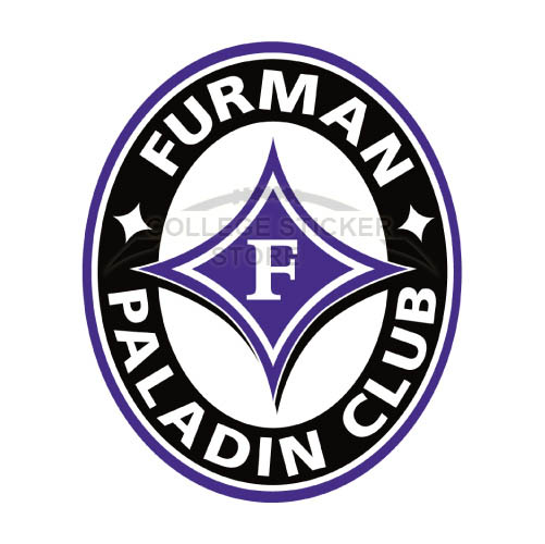 Design Furman Paladins Iron-on Transfers (Wall Stickers)NO.4432