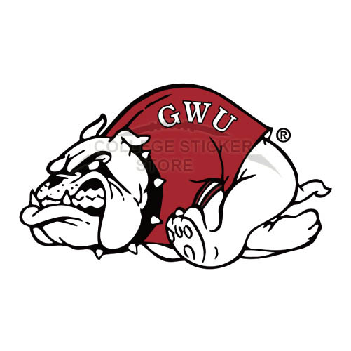 Design Gardner Webb Bulldogs Iron-on Transfers (Wall Stickers)NO.4436