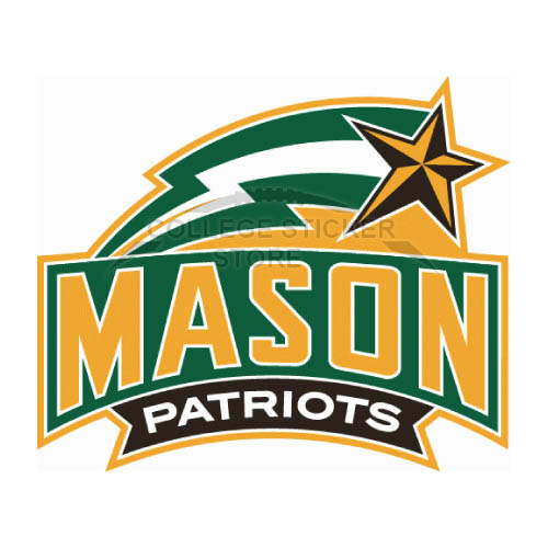 Design George Mason Patriots Iron-on Transfers (Wall Stickers)NO.4438