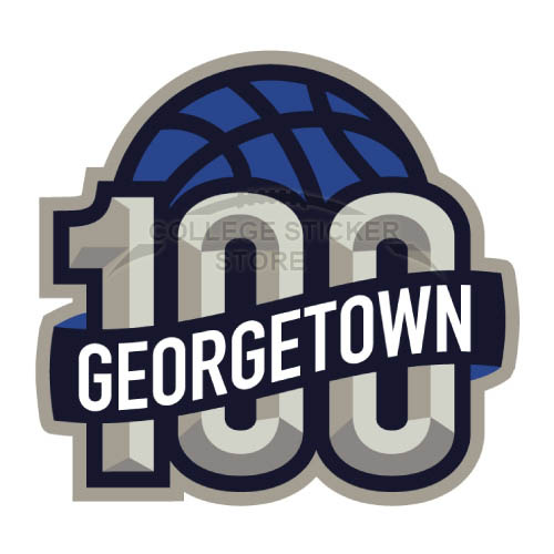 Design Georgetown Hoyas Iron-on Transfers (Wall Stickers)NO.4454