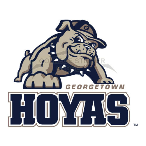 Design Georgetown Hoyas Iron-on Transfers (Wall Stickers)NO.4457
