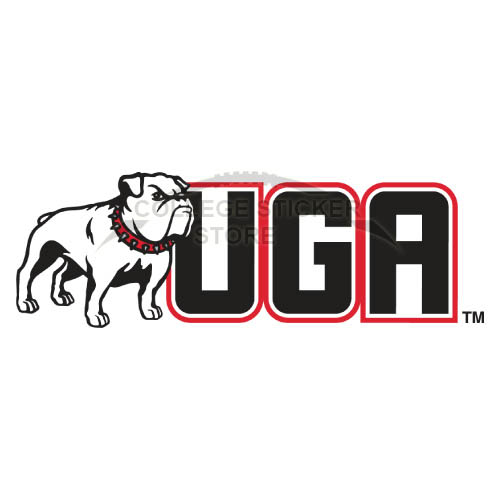 Design Georgia Bulldogs Iron-on Transfers (Wall Stickers)NO.4466
