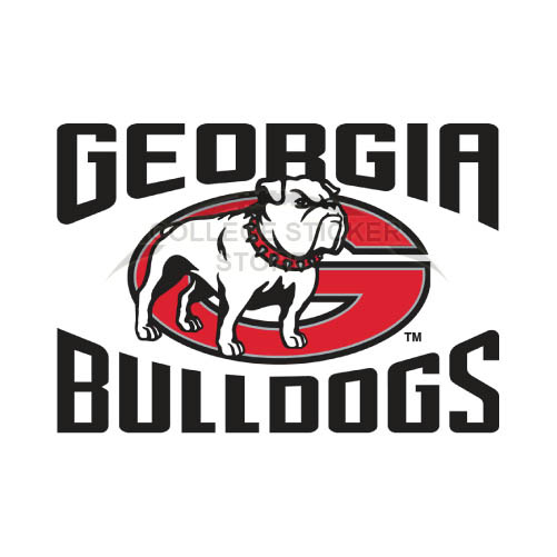 Design Georgia Bulldogs Iron-on Transfers (Wall Stickers)NO.4471
