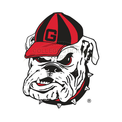 Design Georgia Bulldogs Iron-on Transfers (Wall Stickers)NO.4472