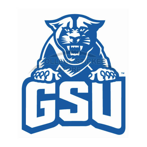 Design Georgia State Panthers Iron-on Transfers (Wall Stickers)NO.4482