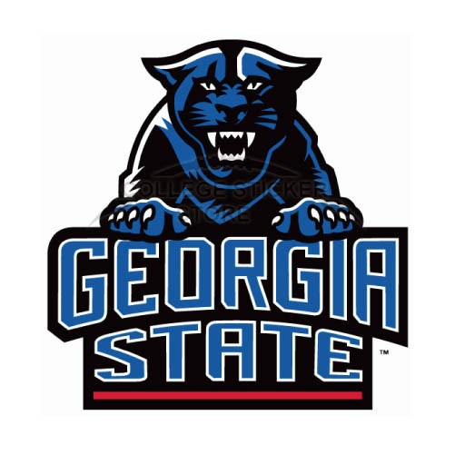 Design Georgia State Panthers Iron-on Transfers (Wall Stickers)NO.4491