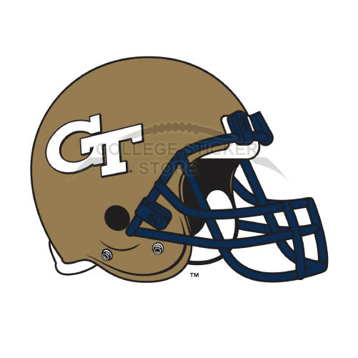 Design Georgia Tech Yellow Jackets Iron-on Transfers (Wall Stickers)NO.4504