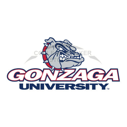 Design Gonzaga Bulldogs Iron-on Transfers (Wall Stickers)NO.4507