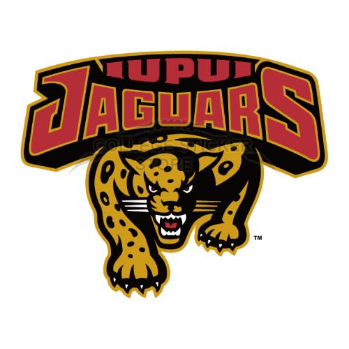 Design IUPUI Jaguars Iron-on Transfers (Wall Stickers)NO.4674