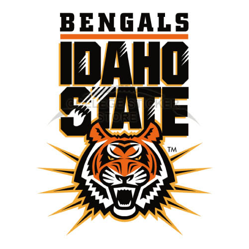 Design Idaho State Bengals Iron-on Transfers (Wall Stickers)NO.4587