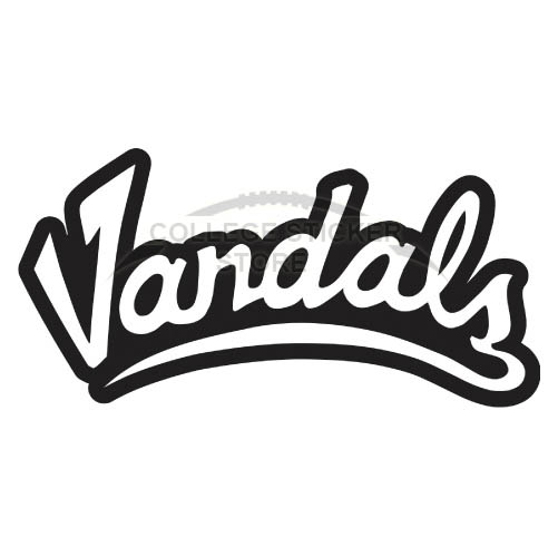 Design Idaho Vandals Iron-on Transfers (Wall Stickers)NO.4593