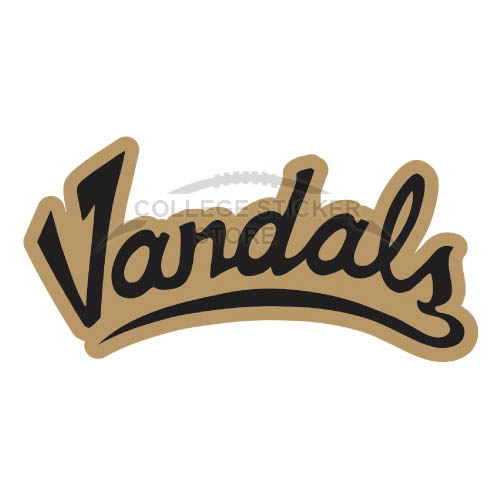 Design Idaho Vandals Iron-on Transfers (Wall Stickers)NO.4598