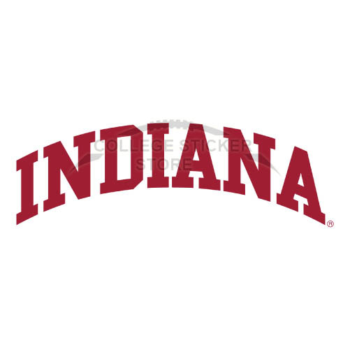 Design Indiana Hoosiers Iron-on Transfers (Wall Stickers)NO.4627