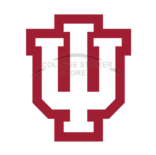 Design Indiana Hoosiers Iron-on Transfers (Wall Stickers)NO.4628