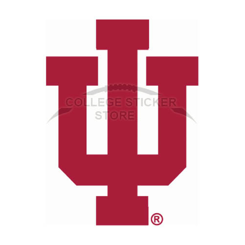 Design Indiana Hoosiers Iron-on Transfers (Wall Stickers)NO.4629