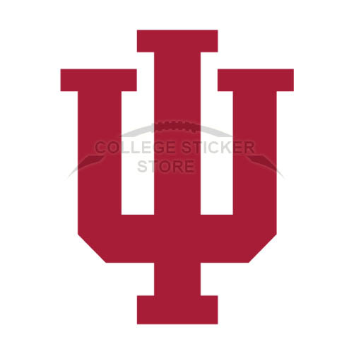 Design Indiana Hoosiers Iron-on Transfers (Wall Stickers)NO.4631