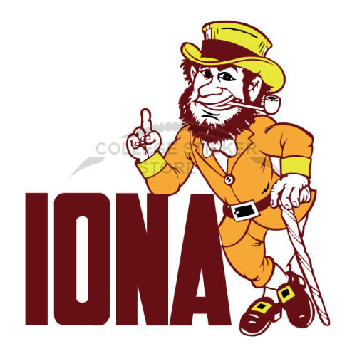 Design Iona Gaels Iron-on Transfers (Wall Stickers)NO.4638