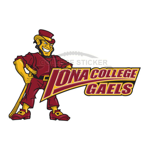 Design Iona Gaels Iron-on Transfers (Wall Stickers)NO.4642