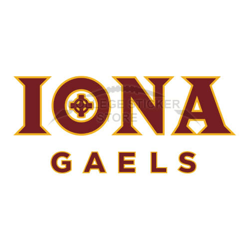 Design Iona Gaels Iron-on Transfers (Wall Stickers)NO.4643